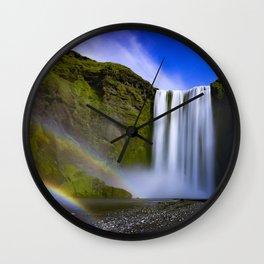 Waterfall, Isle of Skye Wall Clock