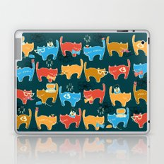 Geek Chic Cats {Nerds, Cameras, Computers, Bow Ties & Glasses} Laptop & iPad Skin