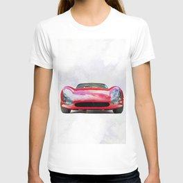 Vintage Supercar Watercolor T-shirt