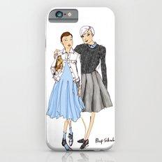 Prep School Girls fashion illustration  iPhone 6s Slim Case