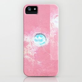 Pink Concrete iPhone Case