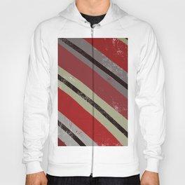Diagonal Red Hoody