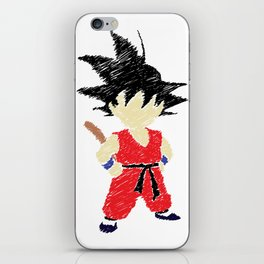 Little Saiyan iPhone Skin