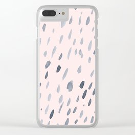 Raindrops Are Falling On My Head Clear iPhone Case