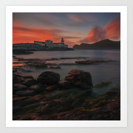 Cromwell Lighthouse II Art Print