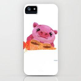 Piglet sow Schultüte enrollment Gift iPhone Case