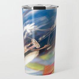 Transparent Christmas Light Bulb Travel Mug