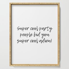 Super Cool Party People Serving Tray