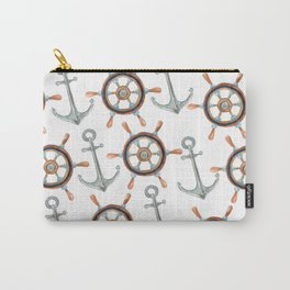 Nautical #1 Carry-All Pouch