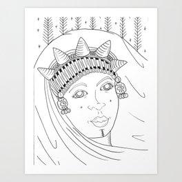 Amazigh Art Print