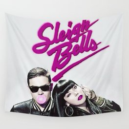 Sleigh Bells Wall Tapestry