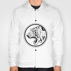 Tiger in a circle Hoody
