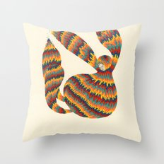 A Trifle High Throw Pillow