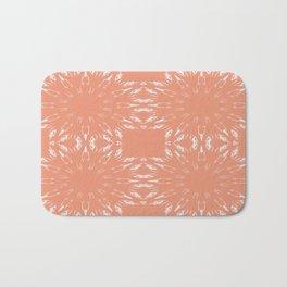 Peach Color Burst Bath Mat