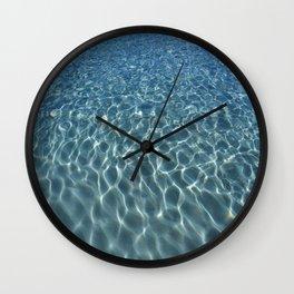 Wade In Wall Clock
