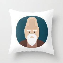 Ki-Adi-Mundi Throw Pillow