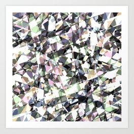 Lazer Diamond 2 Art Print