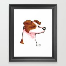 Brush Breeds-Jack Russell Terrier Framed Art Print