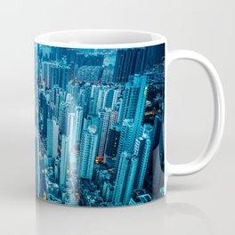 Hong Kong downtown at night Coffee Mug