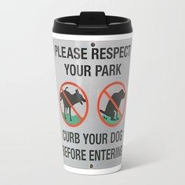 please respect Travel Mug