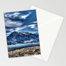 Mountains in HDR Stationery Cards