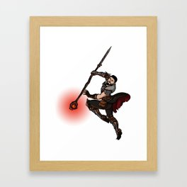 Strong Female Pose - Hawke Framed Art Print