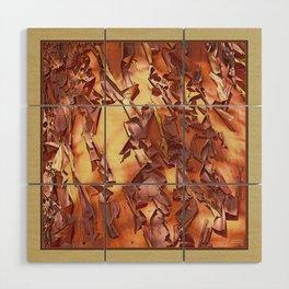 A STUDY OF MADRONA BARK Wood Wall Art
