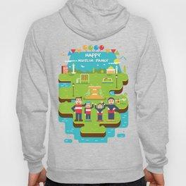 Happy Muslim Family T-Shirt Hoody