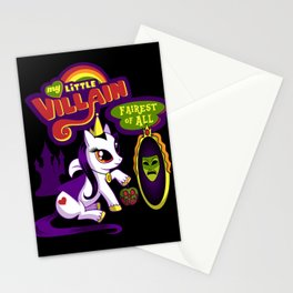 My Little Villain: Fairest of All Stationery Cards