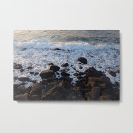 Jeju Sea Metal Print