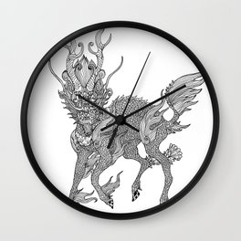 Qilin  Wall Clock