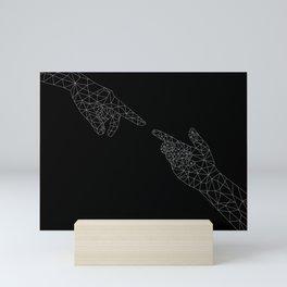 Michelangelo Reloaded (in black) Mini Art Print