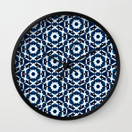 Shibori Watercolour no.4 Wall Clock
