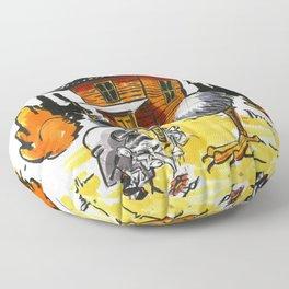 Baba Yaga Floor Pillow