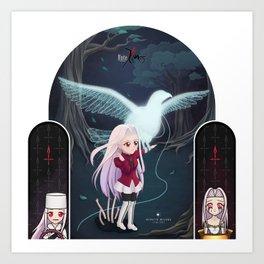 Fate/Zero:  Iri Art Print