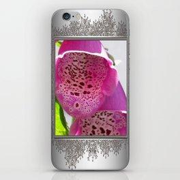 Digitalis named Excelsior Pink iPhone Skin