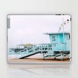 Santa Monica Pier Lifeguard Laptop & iPad Skin
