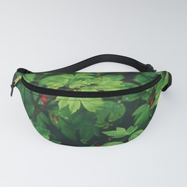 Fresh Forest Foliage Fanny Pack