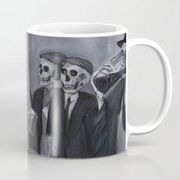 Working Skeleton's Club Coffee Mug