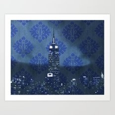 Empire Night Art Print