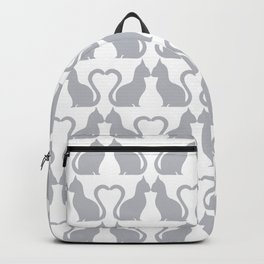 Kissing Cats Backpack