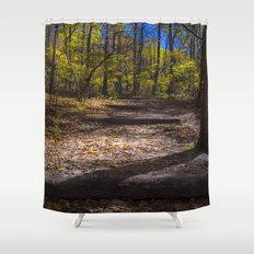 This way Shower Curtain