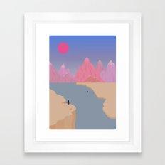 Girls' Oasis 2 Framed Art Print