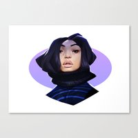 asian Canvas Prints featuring Asian by Max Grecke