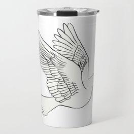 Whatsapp's Carrier Pigeon Travel Mug