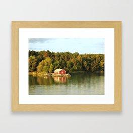 Summer Residence Framed Art Print