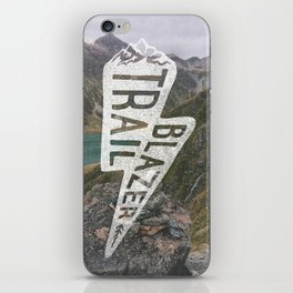 Trail Blazer iPhone Skin