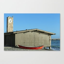 San Clemente Life Guard Tower Canvas Print