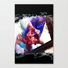 Firework Hand Canvas Print