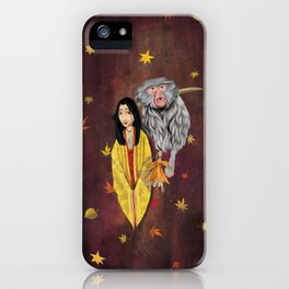 Mother, Kubo digital painting iPhone Case